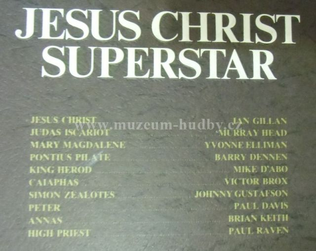 ... Jesus Christ Superstar / Ian Gillan [ Deep Purple]-Jesus Christ Superstar ...