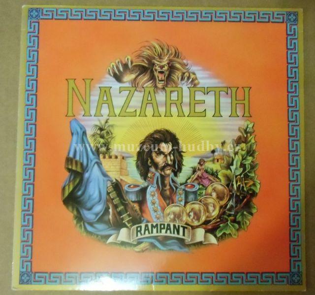 Nazareth Rampant Online Vinyl Shop Gramofonov 233 Desky