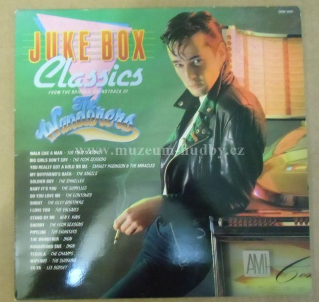 """Four Seasons, Lee Dorsey, Angels, Shirelles, Chantay...: Jukebox Classics - The Wanderers (Original Soundtrack) - Vinyl(33"""" LP)"""