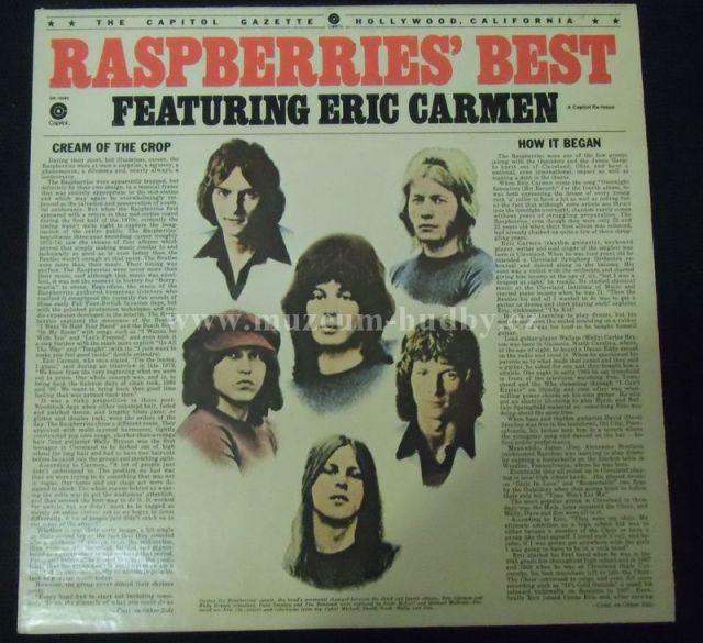 "Raspberries [ Eric Carmen]: Raspberries' Best Featuring Eric Carmen - Vinyl(33"" LP)"
