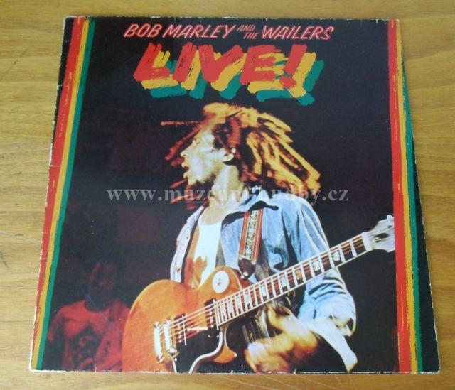 Bob Marley The Wailers Live Online Vinyl Shop