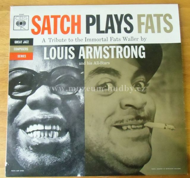 "Louis Armstrong: Satch Plays Fats Waller - Vinyl(33"" LP)"