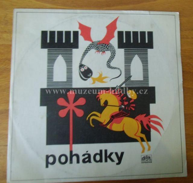 "Vaclav Ctvrtek / Josef Capek / Karel HOGER / FRANTISEK FILIPOVSKY /STRYCEK JEDLICKA: pohadky a pisnicky pro nejmensi deti - Vinyl(33"" LP)"
