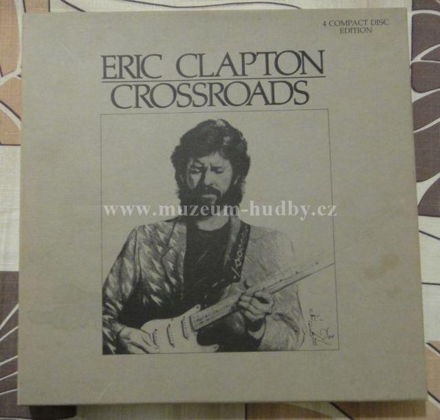 Eric Clapton: Eric Clapton 4CD Crossroads USA - Vinyl(Ostatní)