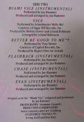 Jan Hammer / Glen Frey / Chaka Khan / Phil Collins / Grandmaster Melle Mel / Tina Turner-Miami Vice