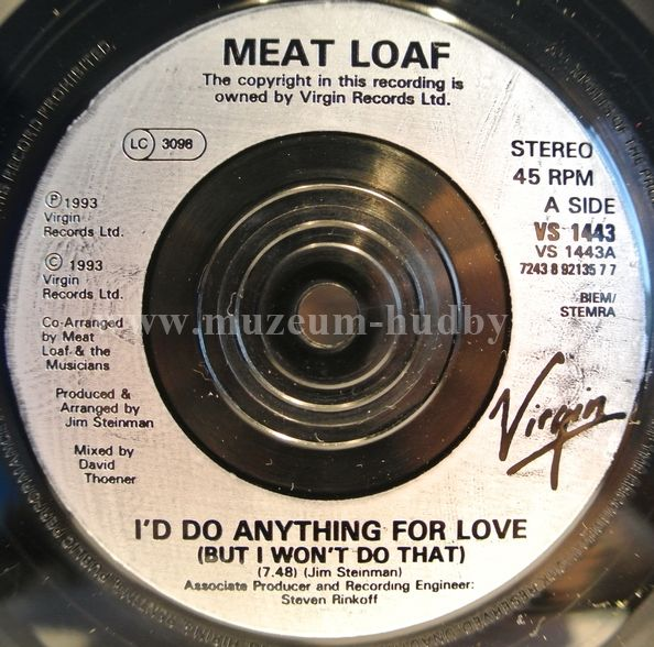 Meat Loaf I D Do Anything For Love But I Won T Do That