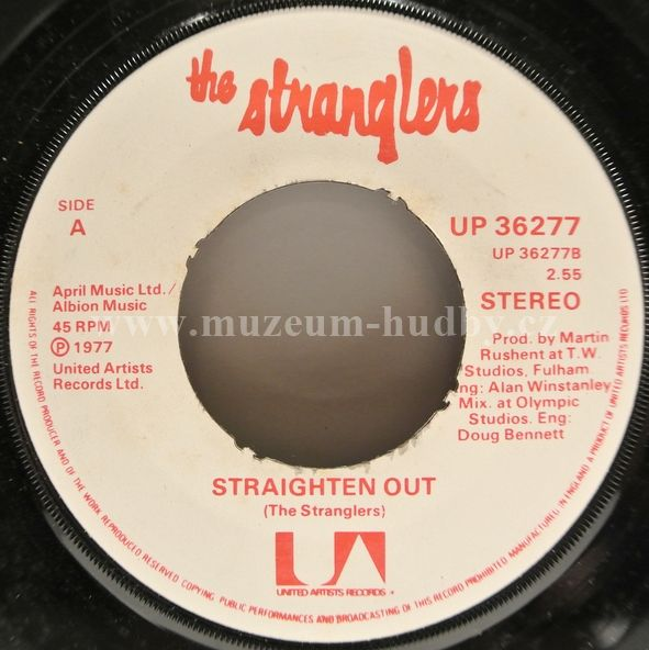 Stranglers, The-Something Better Change / Straighten Out
