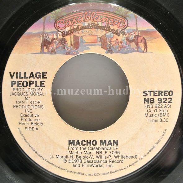 "Village People: Macho Man / Key West - Vinyl(45"" Single)"
