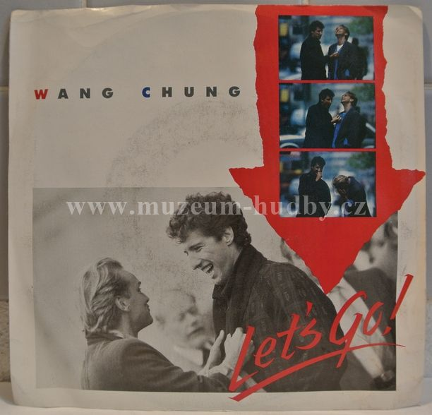 "Wang Chung: Let's Go / The World In Which We Live - Vinyl(45"" Single)"