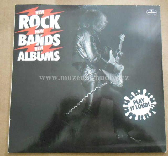 "Duke Jupiter / Phoenix / Richard Fagan / Reels / Original Mirrors / Def Leppard / Faith Band / Kids / Ian McLagan / Van Wilks: New Rock New Bands New Albums - Vinyl(33"" LP)"