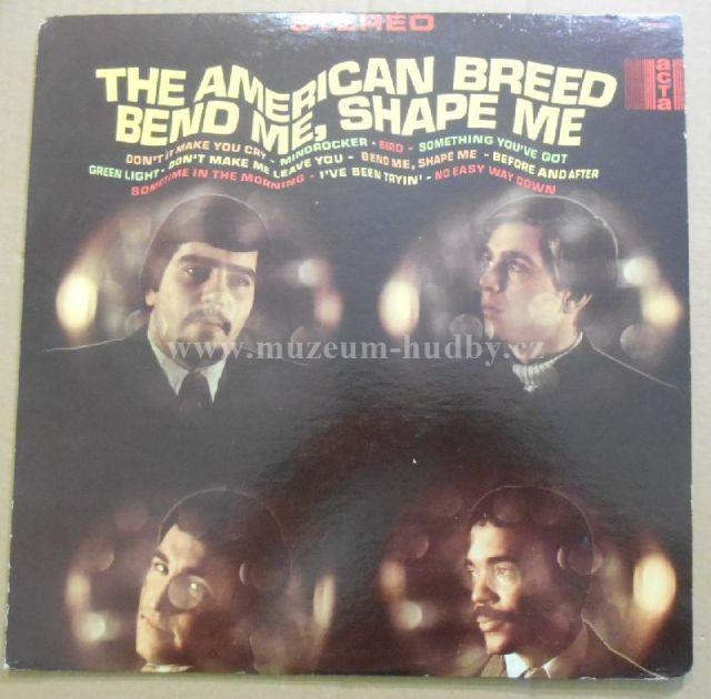"""American Breed: Bend Me, Shape Me - Vinyl(33"""" LP)"""