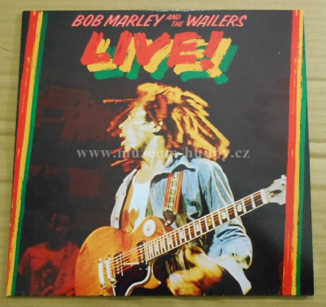 Bob Marley And The Wailers Live Online Vinyl Shop