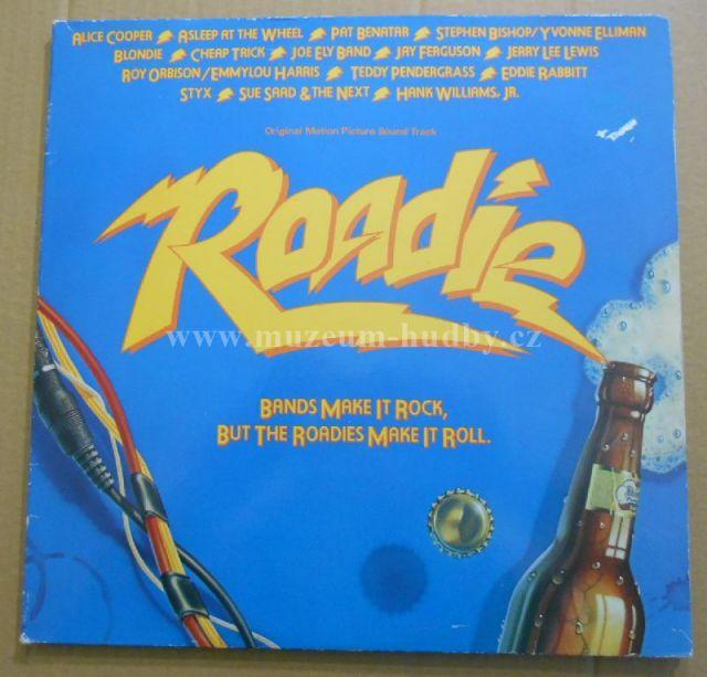"Cheap Trick ,Pat Benatar, Joe Ely Band, Alice Cooper...: Roadie (Original Motion Picture Sound Track) - Vinyl(33"" LP)"