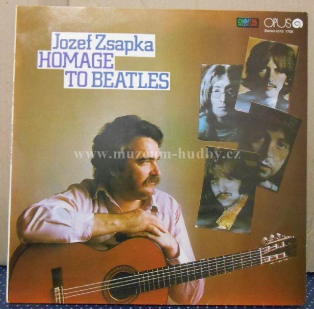 "Jozef Zsapka: Homage To Beatles - Vinyl(33"" LP)"