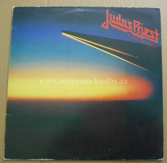 "Judas Priest: Point Of Entry - Vinyl(33"" LP)"