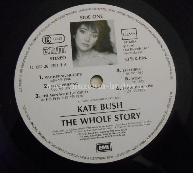 Kate Bush-The Whole Story - Product detail | online vinyl