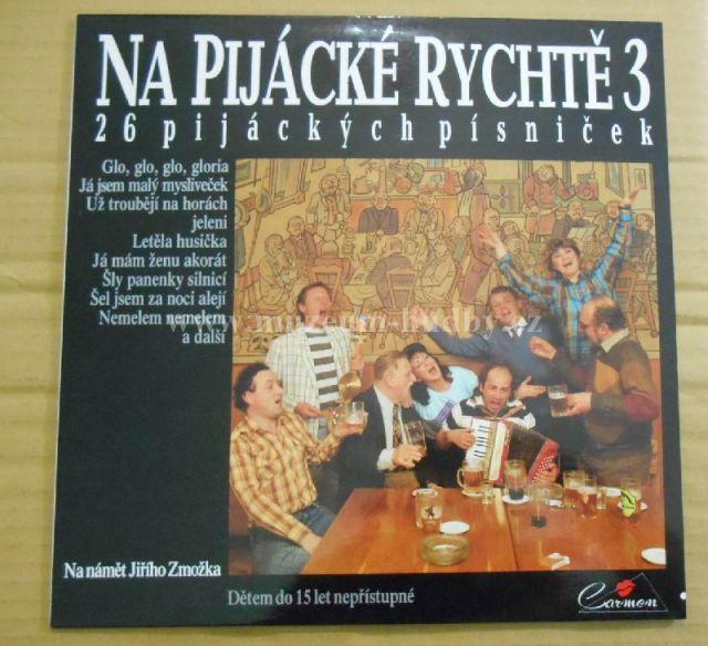 """Na pijácké rychtě 3: 26 pijáckých písniček - Vinyl(33"""" LP)"""