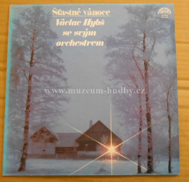 """Václav Hybš: Šťastné Vánoce - Vinyl(33"""" LP)"""