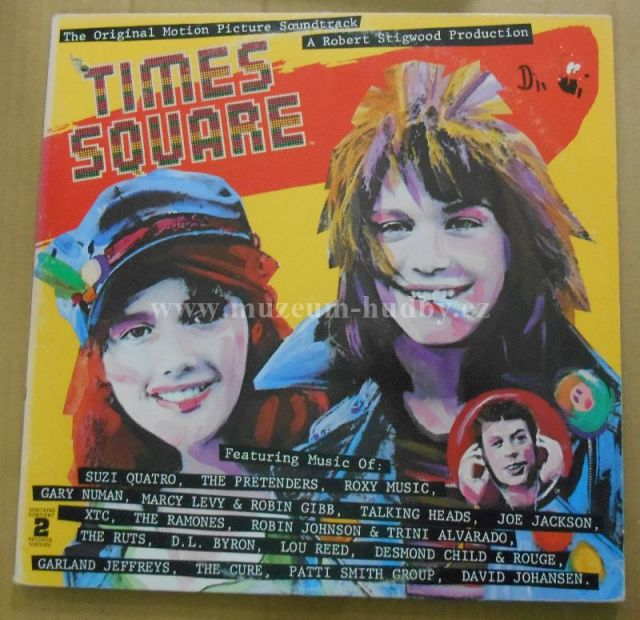 "Cure / Ramones / Suzi Quatro / Pretenders / Roxy Music / Gary Numan / Lou Reed / Patti Smith Group: Times Square - Vinyl(33"" LP)"