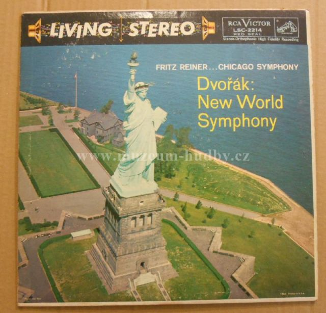 "Dvořák, Fritz Reiner ... Chicago Symphony: New World Symphony - Vinyl(33"" LP)"