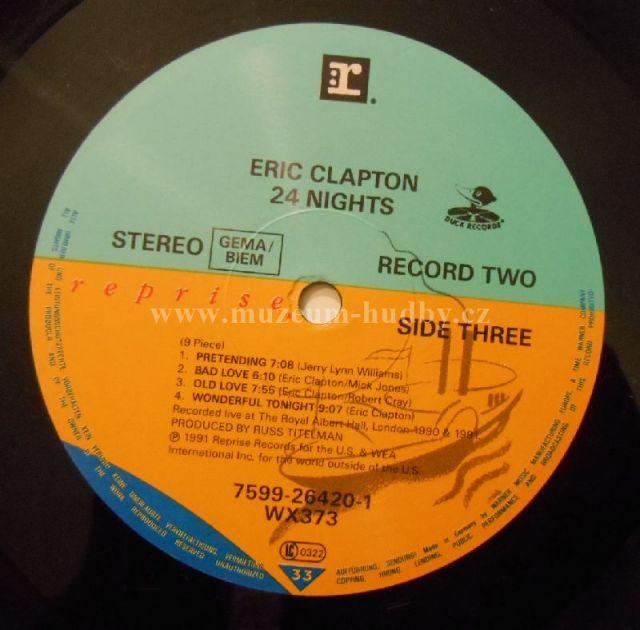 Eric Clapton Eric Clapton 24 Nights Online Vinyl Shop