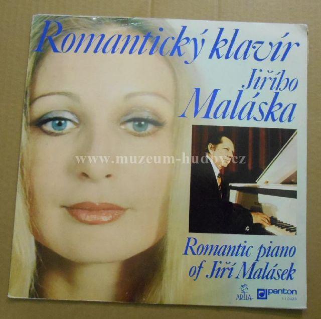 """Jiří Malásek: Romantický Klavír Jiřího Maláska (Romantic Piano Of Jiří Malásek) - Vinyl(33"""" LP)"""