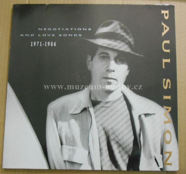 "Paul Simon: Negotiations And Love Songs (1971-1986) - Vinyl(33"" LP)"