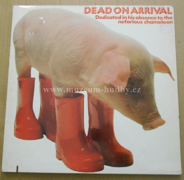 "Captain Beefheart / Motors / X Ray Spex / XTC / Penetration / Wilko Johnson's Solid Senders / Steve Hillage / Can / Peter Baumann / Ashra / U-Roy / Johnny Clarke / Mighty Diamonds: Dead On Arrival - Vinyl(33"" LP)"