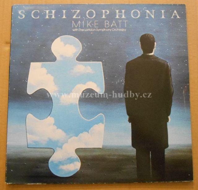 "Mike Batt With London Symphony Orchestra: Schizophonia - Vinyl(33"" LP)"