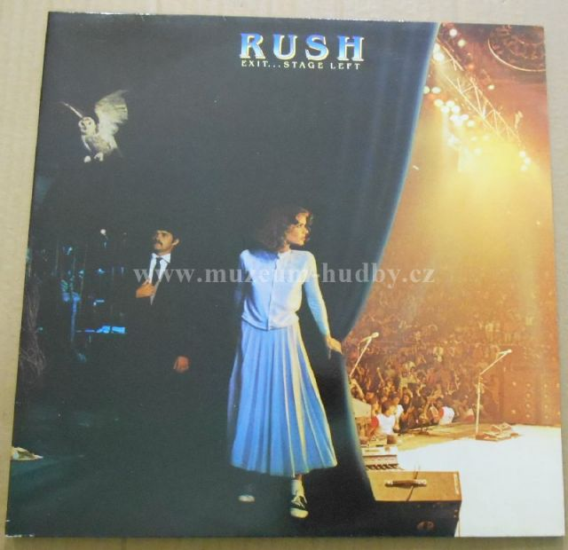 "Rush: Exit...Stage Left - Vinyl(33"" LP)"