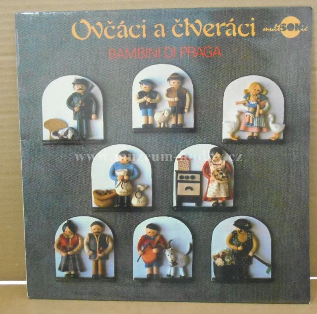 "Bambini Di Praga: Ovčáci A Čtveráci - Vinyl(33"" LP)"