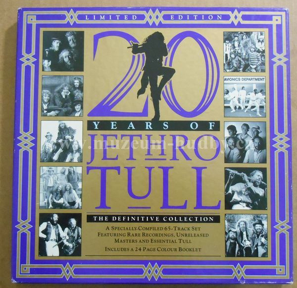 "Jethro Tull: 20 Years Of Jethro Tull - The Definitive Collection - Vinyl(33"" LP)"