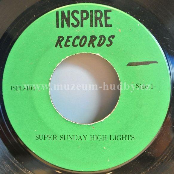 "Super Sunday High Lights: Super Sunday High Lights - Vinyl(45"" Single)"