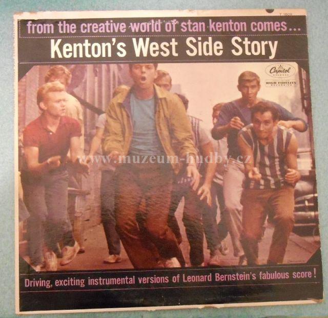 "Stan Kenton: Kenton's West Side Story - Vinyl(33"" LP)"