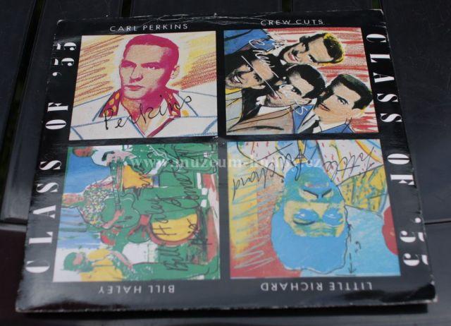 "Class Of '55 / Carl Perkins / Bill Haley / Crew Cuts* / Little Richard : Blue Suede Shoes / Rock Around The Clock / Earth Angel / Tutti Frutti - Vinyl(45"" Single)"