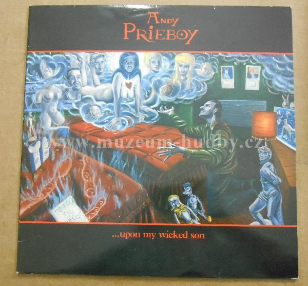 "Andy Prieboy: Upon My Wicked Son - Vinyl(33"" LP)"