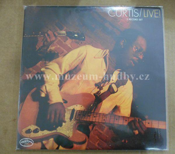 """Curtis Mayfield: Live! 2LP - Vinyl(33"""" LP)"""