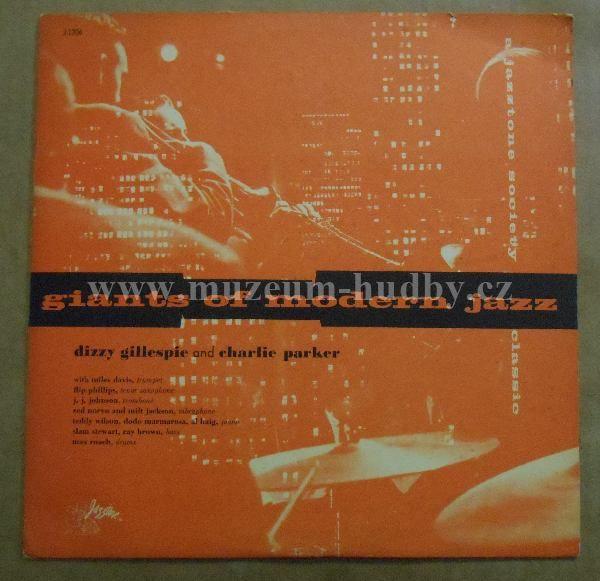 """Dizzy Gillespie / Charlie Parker: Giants Of Modern Jazz - Vinyl(33"""" LP)"""