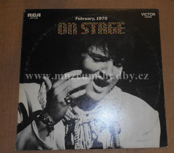 "Elvis Presley: On Stage February 1970 - Vinyl(33"" LP)"