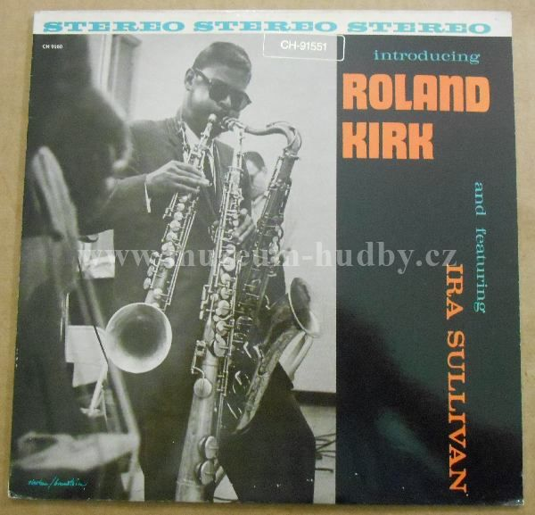 "Roland Kirk: Introducing Roland Kirk - Vinyl(33"" LP)"