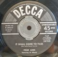 Four Aces, The Featuring Al Alberts-Dream / It Shall Come To Pass