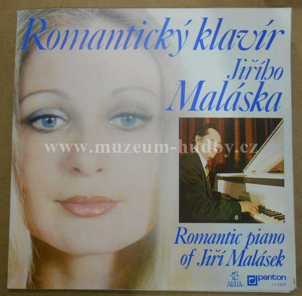 "Jiri Malasek: Romanticky klavir - Vinyl(33"" LP)"