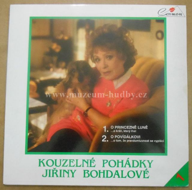 """Jiřina Bohdalová: Kouzelné Pohádky Jiřiny Bohdalové - Vinyl(33"""" LP)"""