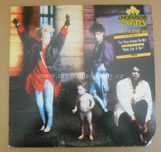 "Thompson Twins: Here's To Future Days - Vinyl(33"" LP)"