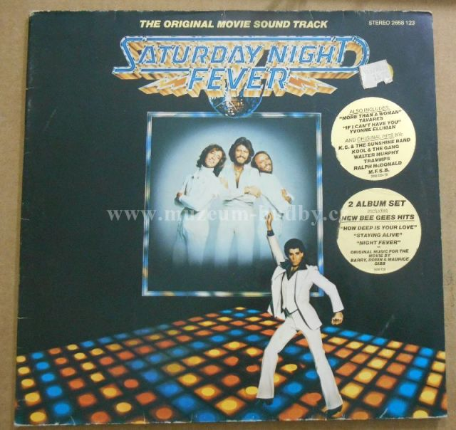 "Bee Gees / Yvonne Elliman / Walter Murphy / Tavares / Bill Oakes & David Shire /: Saturday Night Fever (The Original Movie Sound Track) - Vinyl(33"" LP)"