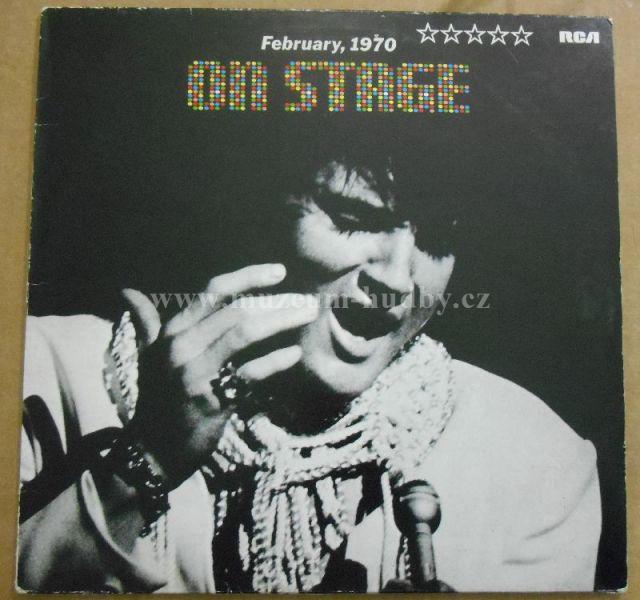 "Elvis Presley: On Stage, February 1970 - Vinyl(33"" LP)"