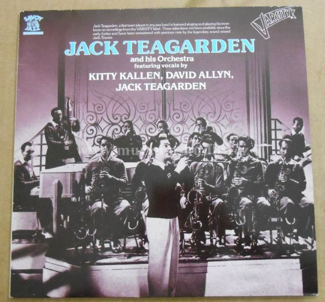 "Jack Teagarden And His Orchestra: Varsity Sides - Vinyl(33"" LP)"