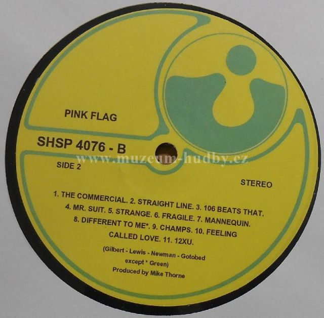 Wire-Pink Flag - Product detail | online vinyl shop