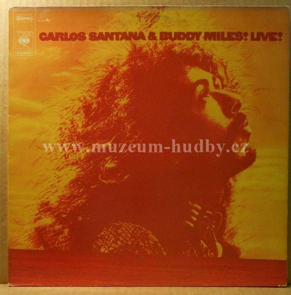 "Carlos Santana & Buddy Miles: Carlos Santana & Buddy Miles! Live! - Vinyl(33"" LP)"