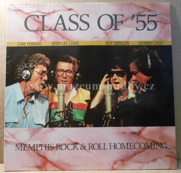 "Carl Perkins, Jerry Lee Lewis, Roy Orbison, Johnny Cash: Class Of '55: Memphis Rock & Roll Homecoming - Vinyl(33"" LP)"